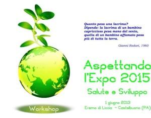 1 giugno 2013 eremo di liccio Castelbuono SALUTE E SVILUPPO