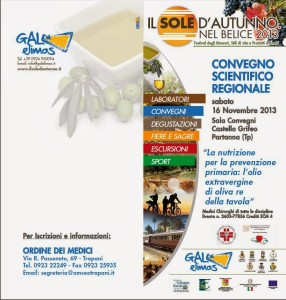 convegno scentifico regionale per la nutrizione e la prevenzione primaria 16 novembre 2013